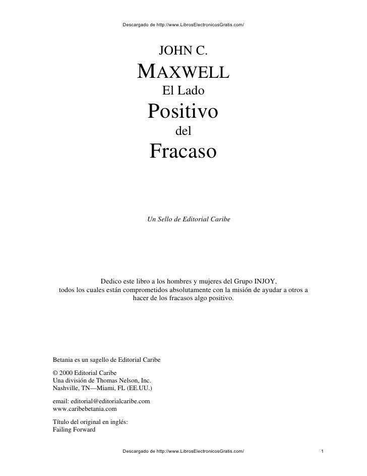 Descargado de http://www.LibrosElectronicosGratis.com/                                           JOHN C.                  ...