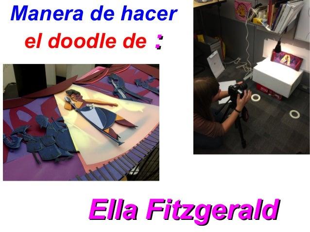 Manera de hacerel doodle de ::Ella FitzgeraldElla Fitzgerald