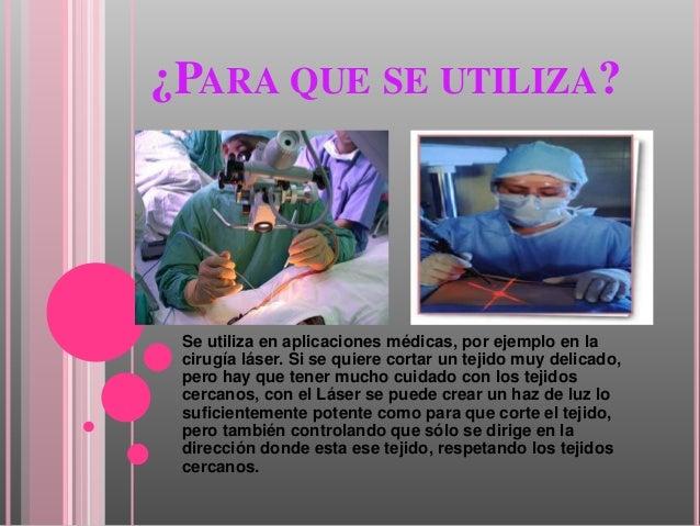 El Laser Y La Cirugia Medica