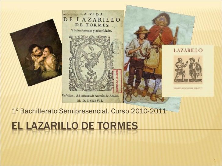 1º Bachillerato Semipresencial. Curso 2010-2011