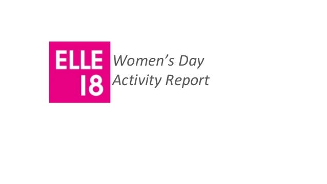 Women's DayActivity Report