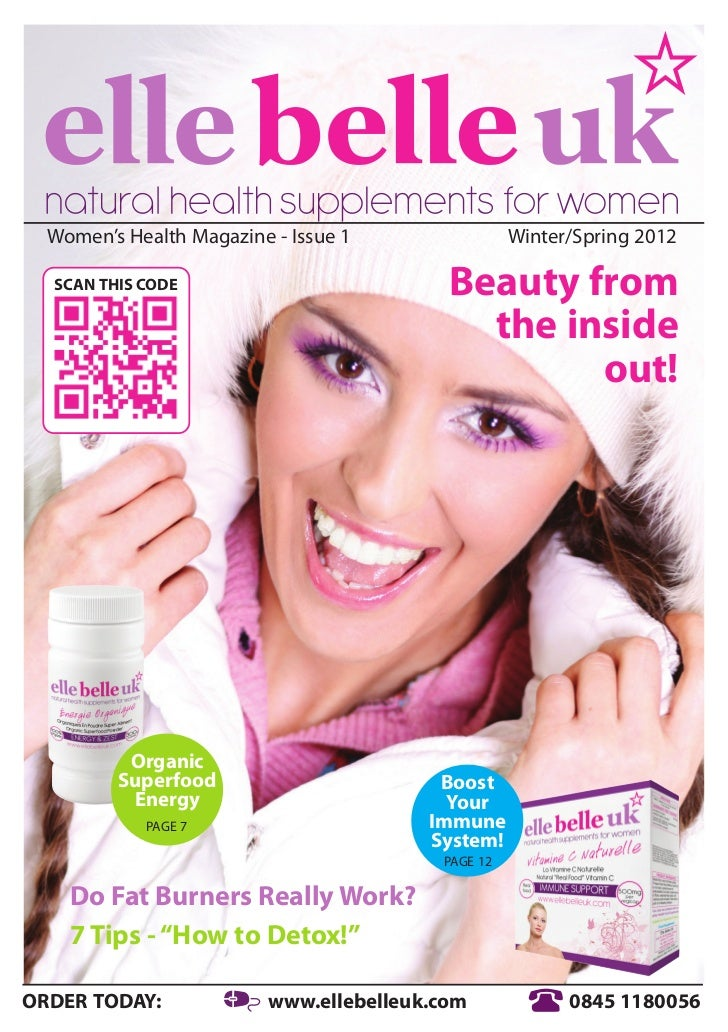 Women's Health Magazine - Issue 1                Winter/Spring 2012  SCAN THIS CODE                          Beauty from  ...