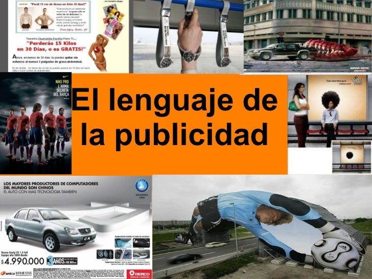 El lenguaje de la publicidad