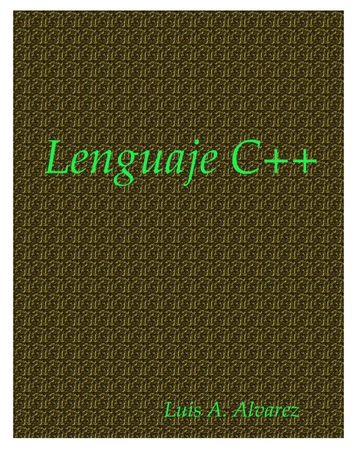 El lenguaje de programación c++, apuntesprev