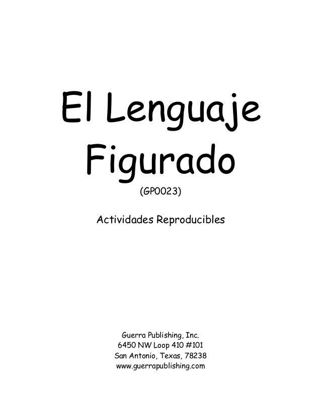 lenguaje literario ejemplos: