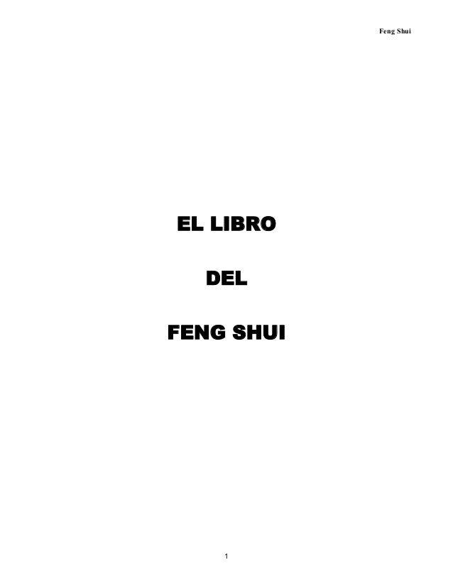 El libro del feng shui