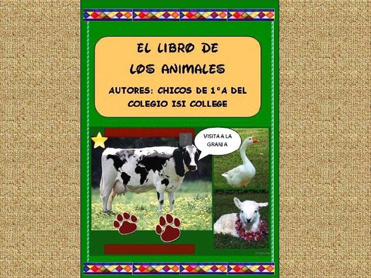 El libro de los animales visita a la granja