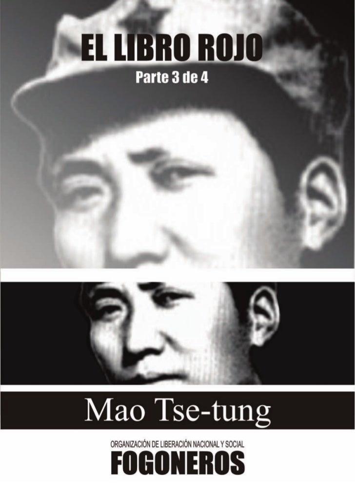 ¡Proletarios de todos los países, uníos!         CITAS         DEL        PRESIDENTE MAO TSE-TUNG                     EDIC...