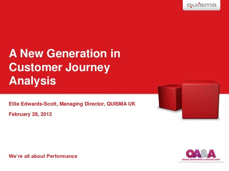 Online Advertising Theatre; A New Generation in Customer Journey Analysis