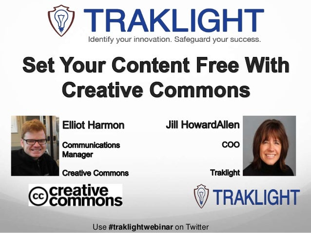 Elliot Harmon | How To Set Your Content Free With Creative Commons
