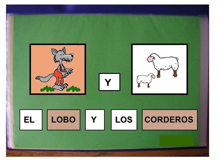 EL LOBO Y LOS Y CORDEROS