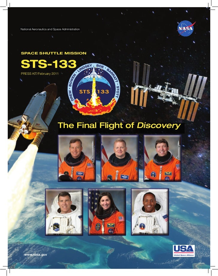 National Aeronautics and Space AdministrationSPACE SHUTTLE MISSIONSTS-133PRESS KIT/February 2011                          ...