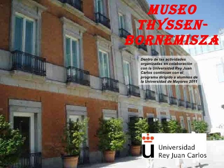 MUSEO THYSSEN El lugar del espectador  1 14-1-2011