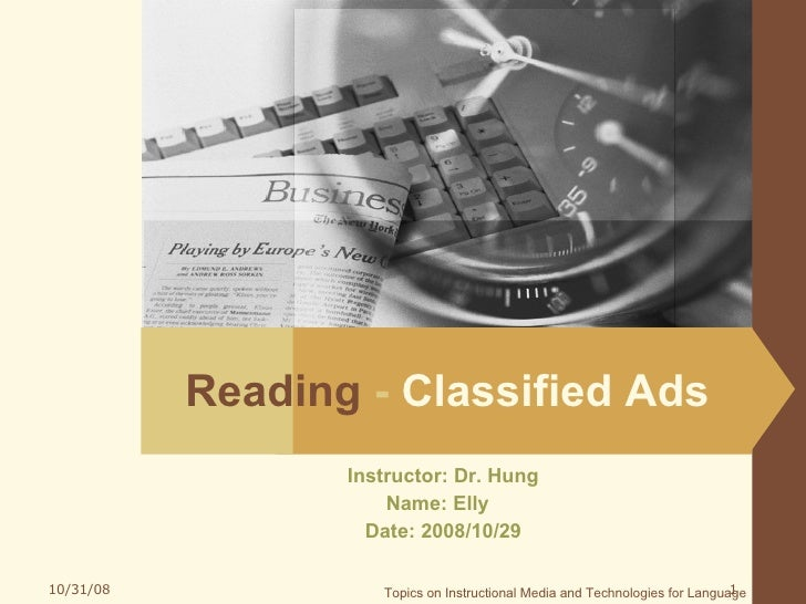 Elly Classified Ads