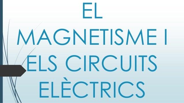 EL MAGNETISME I ELS CIRCUITS ELÈCTRICS