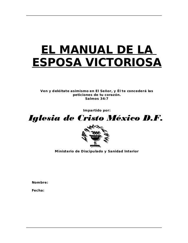 El Manual de la Esposa Victoriosa