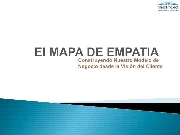 El Mapa de Empatia - Entendiendo a tu Cliente
