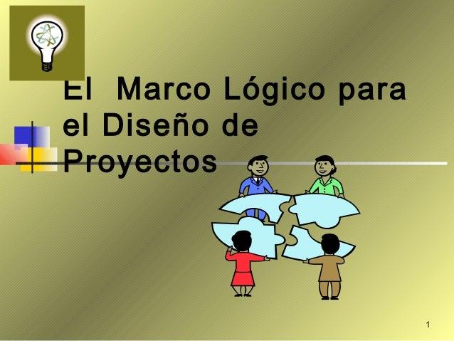 El marco lógico y el proceso de elaboración de matriz de Marco Logico.