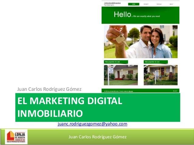 El Marketing Digital Inmobiliario