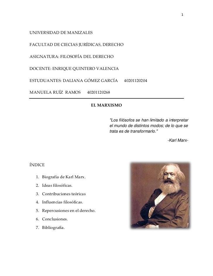1UNIVERSIDAD DE MANIZALESFACULTAD DE CIECIAS JURÍDICAS, DERECHOASIGNATURA: FILOSOFÍA DEL DERECHODOCENTE: ENRIQUE QUINTERO ...