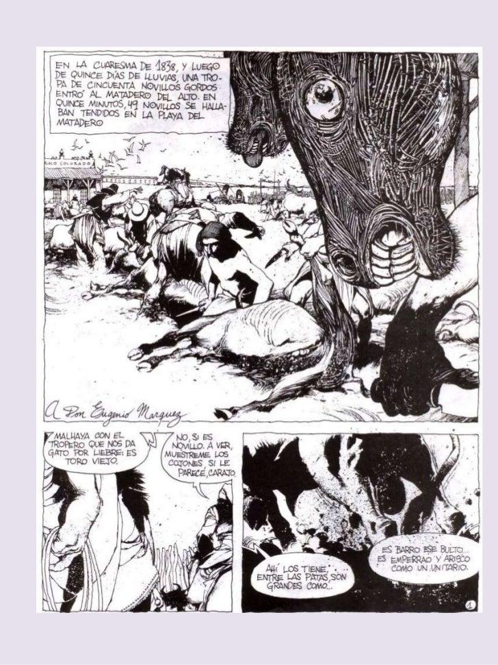 Historieta El Matadero de Enrique Breccia