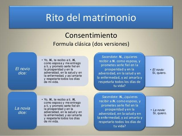 Consentimiento Matrimonial Catolico Formula : Rito matrimonio catolico pictures to pin on pinterest