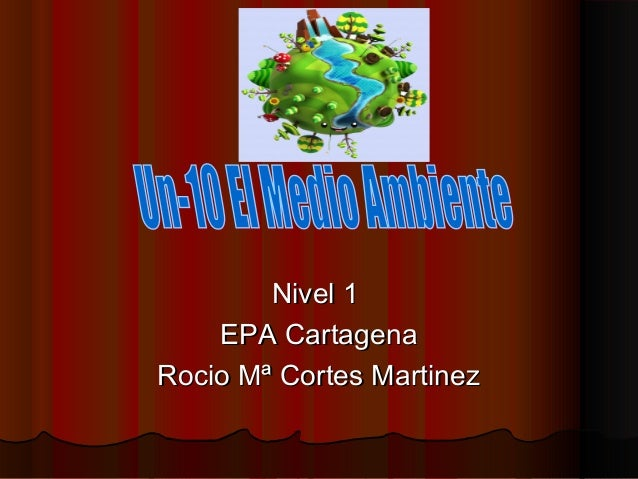 Nivel 1Nivel 1EPA CartagenaEPA CartagenaRocio Mª Cortes MartinezRocio Mª Cortes Martinez