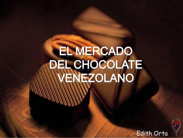 El mercado del chocolate venezolano