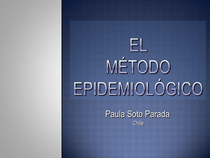 Paula Soto Parada   Chile