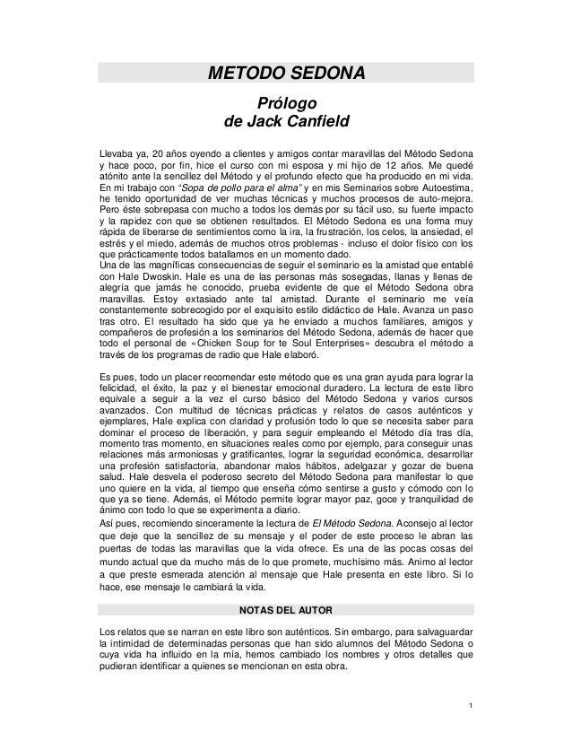 El metodo sedona hale dwoskin