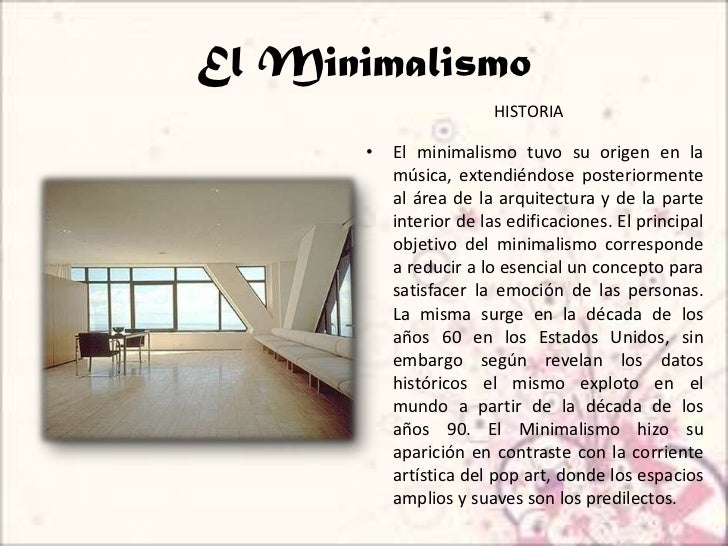 Minimalismo for Arquitectura minimalista concepto