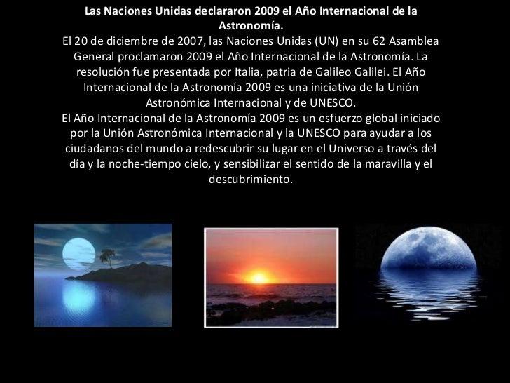 El misterio de la astronomía