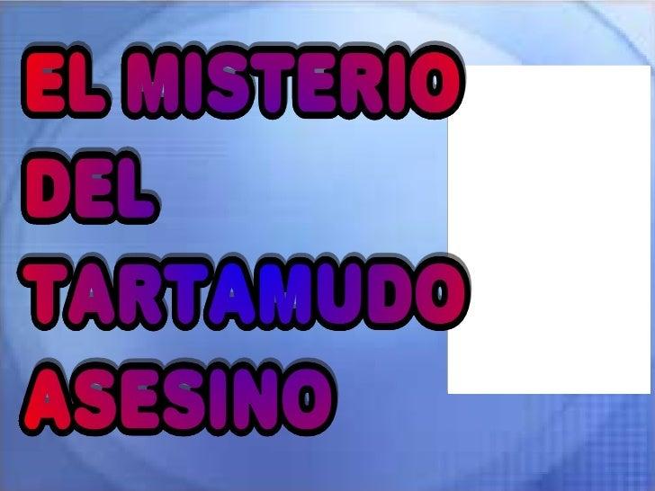 El Misterio Del Tartamudo Asesino