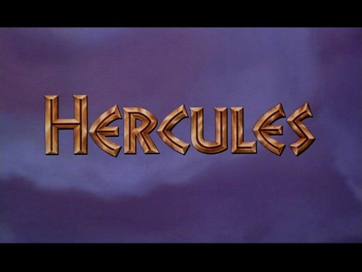 El mito de hércules y disney