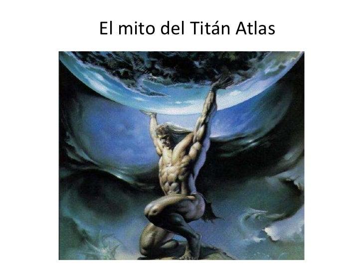 El mito del Titán Atlas