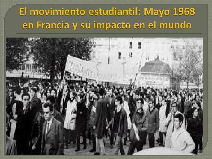 Movimiento Estudiantil de 1968: Causas y Consecuencias