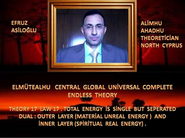 Elmüteal  central  global  uni̇versal  complete  endless  theory 17 law 17