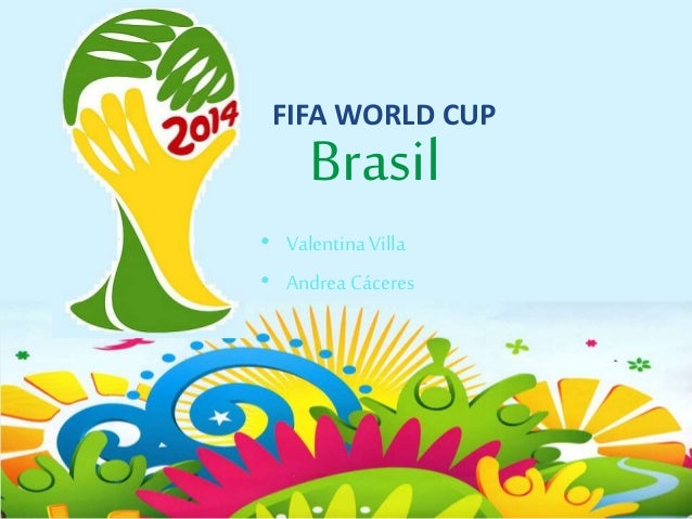 FIFA WORLD CUP Brasil • Valentina Villa • Andrea Cáceres