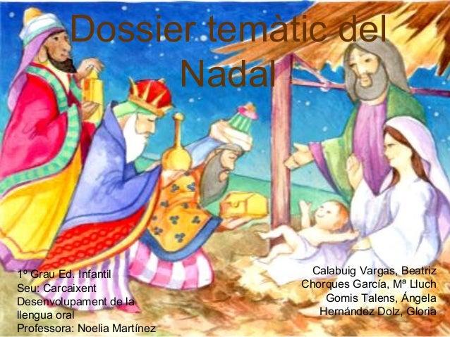 Dossier temàtic del                Nadal1º Grau Ed. Infantil           Calabuig Vargas, BeatrizSeu: Carcaixent            ...