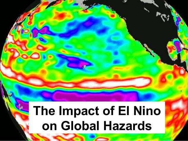 The Impact of El Nino on Global Hazards