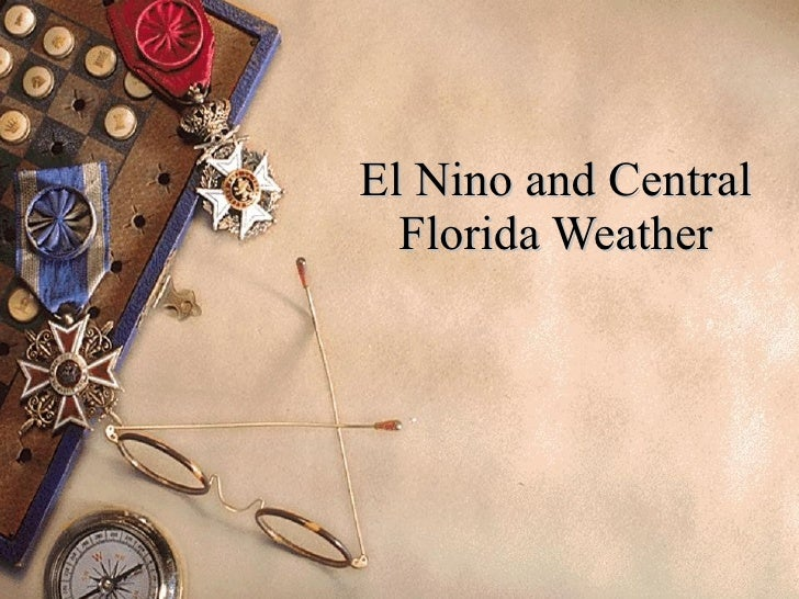 El Nino and Central Florida Weather