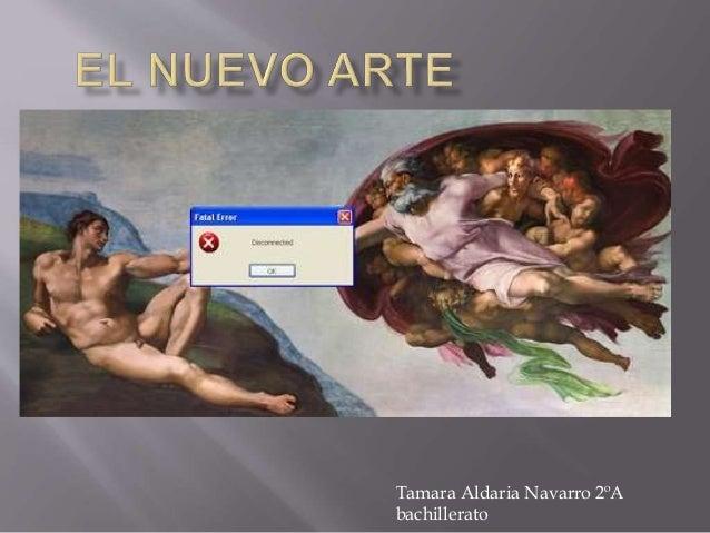 Tamara Aldaria Navarro 2ºA bachillerato