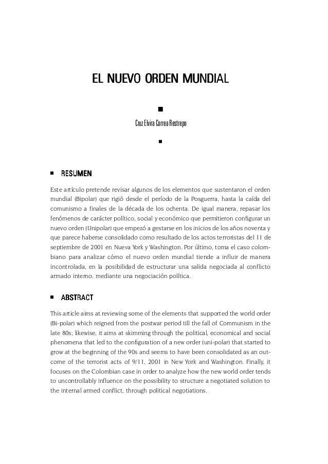 43 EL NUEVO ORDEN MUNDIALEL NUEVO ORDEN MUNDIALEL NUEVO ORDEN MUNDIALEL NUEVO ORDEN MUNDIALEL NUEVO ORDEN MUNDIAL CruzElvi...