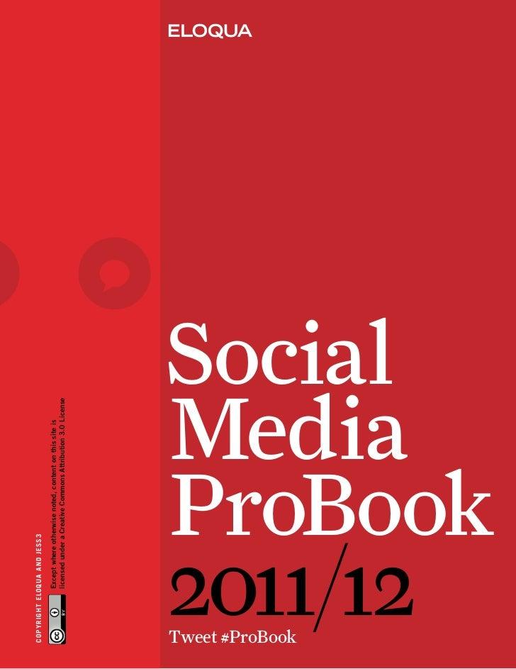 Social Media Probook-2011-2012