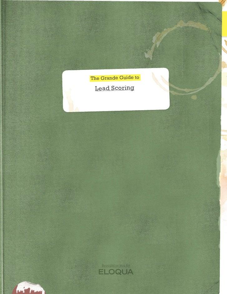 Eloqua Grande Guide Lead Scoring