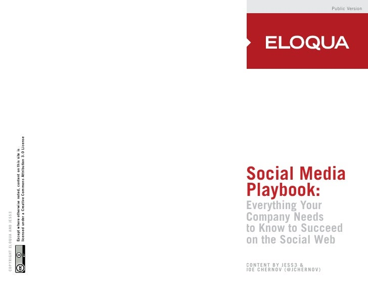Eloqua social media_playbook_public