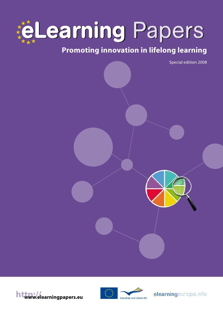 eLearning Papers                 Promoting innovation in lifelong learning                                               S...