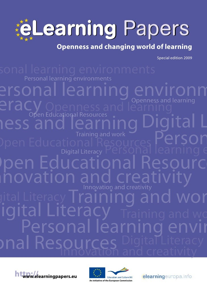 eLearning Papers                     Openness and changing world of learning                                              ...