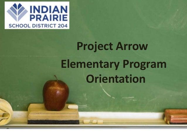 Curriculum presentation for Owen Elementary Project Arrow 13-14