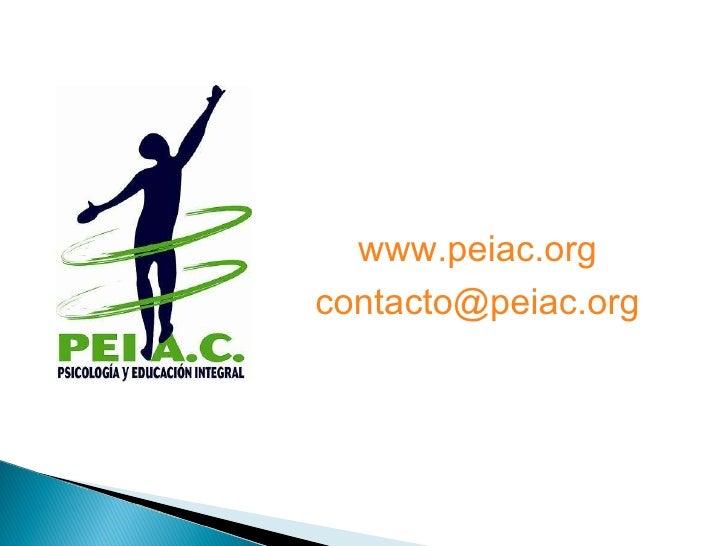 www.peiac.org [email_address]